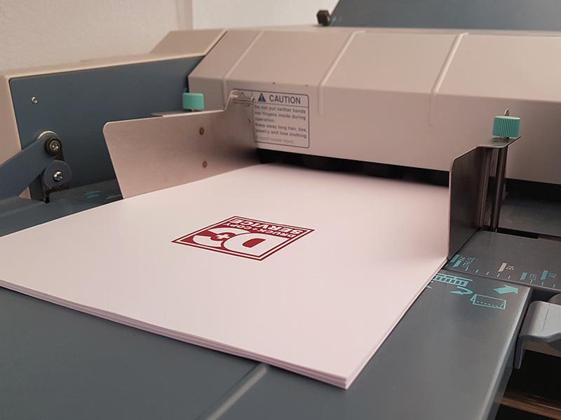 Faltmaschine Druckservice Villach