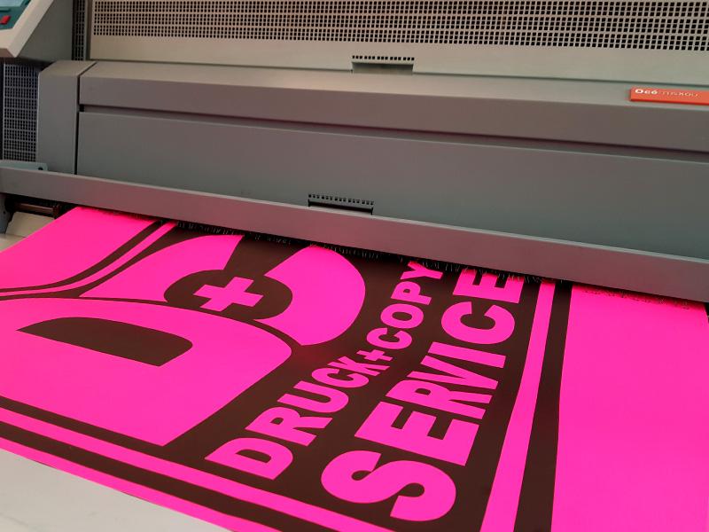 Plakatdruck Neon Villach