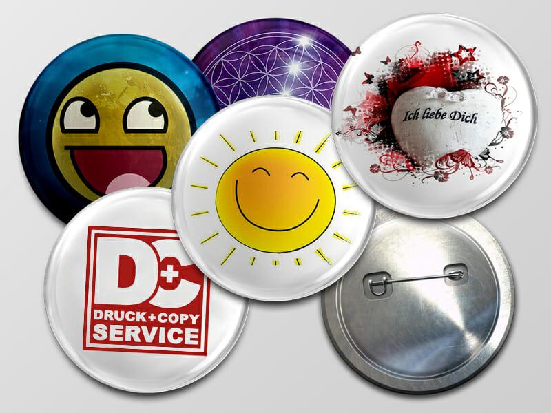 Buttons und Magnete Villach