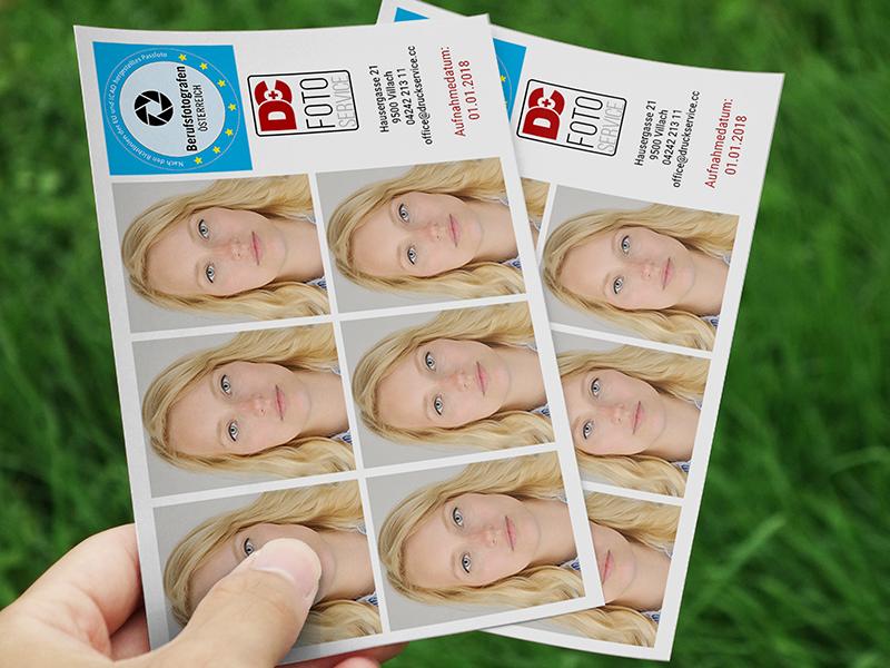 Passfoto Aktion Villach